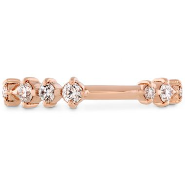 Hearts on Fire 0.37 ctw. Love Code Band in 18K Rose Gold