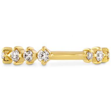 Hearts on Fire 0.37 ctw. Love Code Band in 18K Yellow Gold