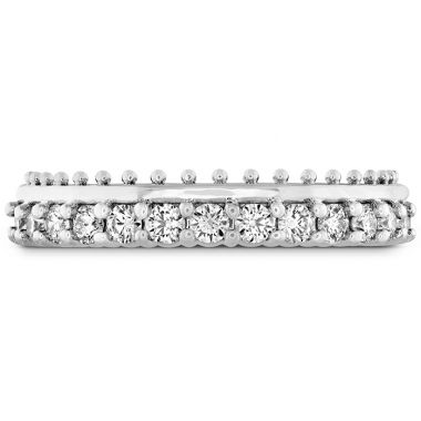 Hearts on Fire 0.42 ctw. Sloane Picot All In A Row Band in 18K White Gold