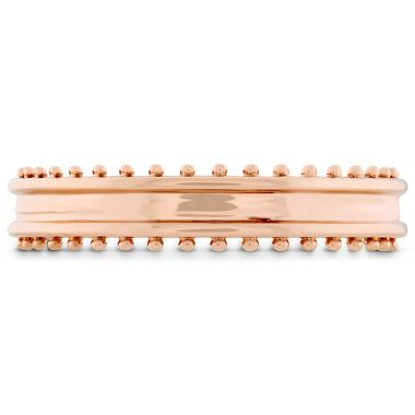 Hearts on Fire Sloane Picot Keep it Classic Metal Band in 18K Rose Gold