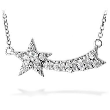 Hearts on Fire 0.85 ctw. Illa Comet Pendant in 18K White Gold