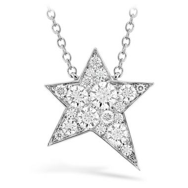 Hearts on Fire 0.54 ctw. Illa Cosmic Diamond Necklace in 18K White Gold
