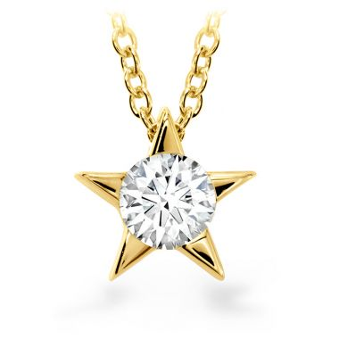 Hearts on Fire 0.25 ctw. Illa Pendant Necklace in 18K Yellow Gold