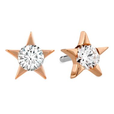 Hearts on Fire 0.33 ctw. Illa Diamond Stud Earrings in 18K Rose Gold