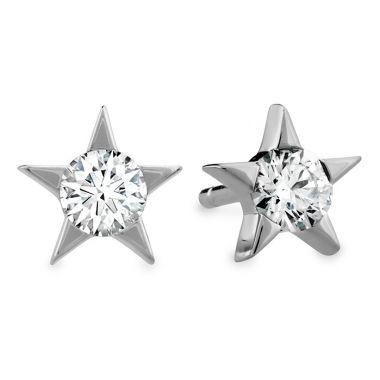 Hearts on Fire 0.33 ctw. Illa Diamond Stud Earrings in 18K White Gold