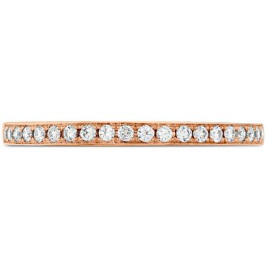 Hearts on Fire 0.15 ctw. Illustrious Diamond Band in 18K Rose Gold