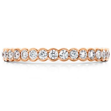 Hearts on Fire 0.41 ctw. Isabelle Bezel Band in 18K Rose Gold