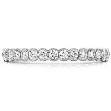 Hearts on Fire 0.41 ctw. Isabelle Bezel Band in Platinum