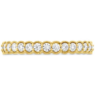 Hearts on Fire 0.42 ctw. Isabelle Milgrain Diamond Band in 18K Yellow Gold