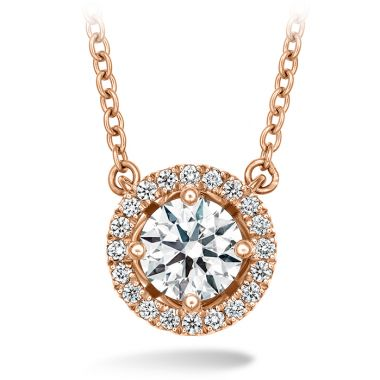 Hearts on Fire 0.16 ctw. Joy Pendant in 18K Rose Gold
