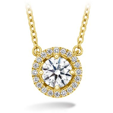 Hearts on Fire 0.16 ctw. Joy Pendant in 18K Yellow Gold