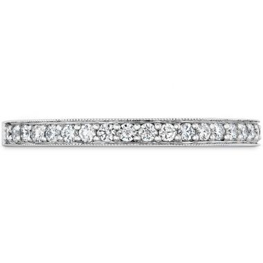 Hearts on Fire 0.18 ctw. Liliana Milgrain Diamond Band in 18K White Gold