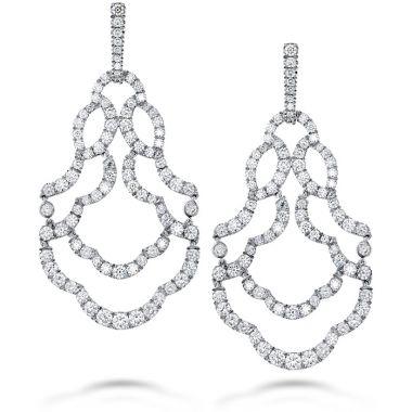 Hearts on Fire 6.5 ctw. Lorelei Chandelier Diamond Earrings in 18K Rose Gold