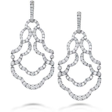 Hearts on Fire 6.5 ctw. Lorelei Chandelier Diamond Earrings in 18K Yellow Gold