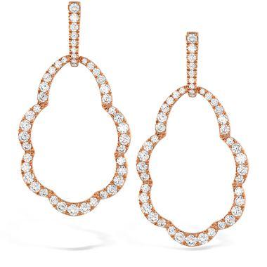 Hearts on Fire 3.45 ctw. Lorelei Open Drop Diamond Earrings in 18K White Gold
