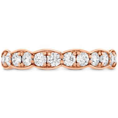 Hearts on Fire 0.7 ctw. Lorelei Floral Diamond Band Large in 18K Rose Gold