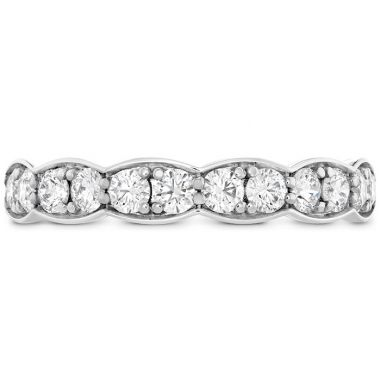 Hearts on Fire 0.7 ctw. Lorelei Floral Diamond Band Large in 18K White Gold