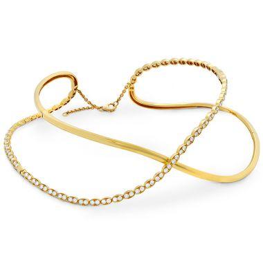 Hearts on Fire 6.65 ctw. Lorelei Criss Cross Choker in 18K Yellow Gold