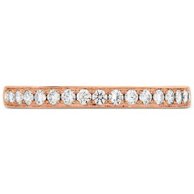 Hearts on Fire 0.2 ctw. Lorelei Bloom Diamond Band in 18K Rose Gold