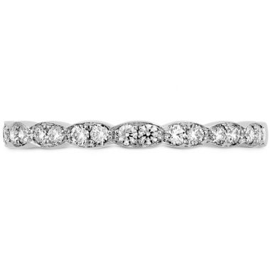 Hearts on Fire 0.2 ctw. Lorelei Floral Diamond Band in 18K Rose Gold