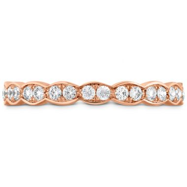 Hearts on Fire 0.45 ctw. Lorelei Floral Eternity Band in 18K Rose Gold
