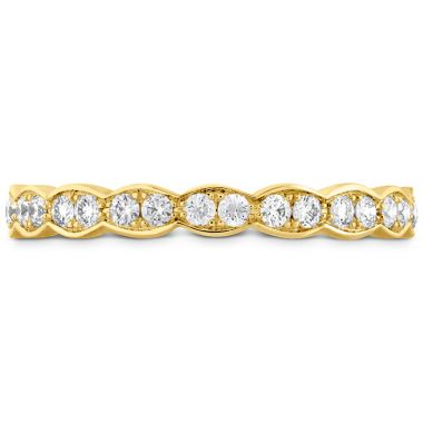 Hearts on Fire 0.5 ctw. Lorelei Floral Eternity Band in 18K Yellow Gold