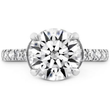 Hearts on Fire The Luna Diamond Ring in Platinum