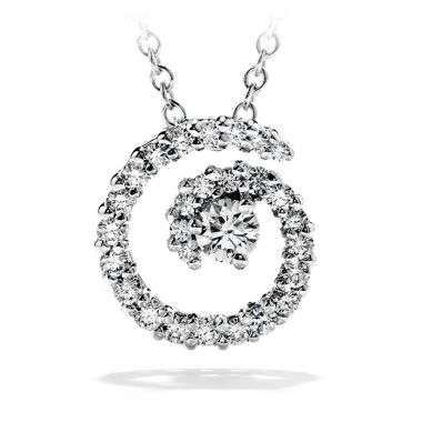 Hearts on Fire 0.35 ctw. Mystical Journey Pendant Necklace in 18K White Gold