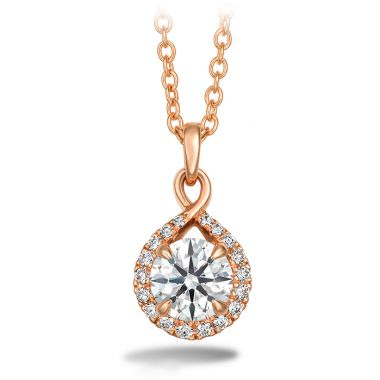 Hearts on Fire 0.4 ctw. Optima Diamond Drop Pendant in 18K Rose Gold