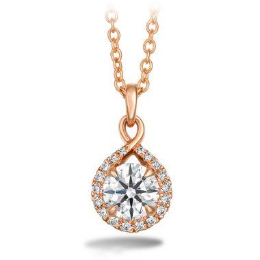 Hearts on Fire 0.56 ctw. Optima Diamond Drop Pendant in 18K Rose Gold