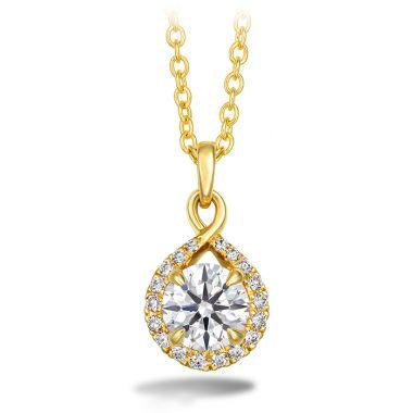 Hearts on Fire 0.4 ctw. Optima Diamond Drop Pendant in 18K Yellow Gold