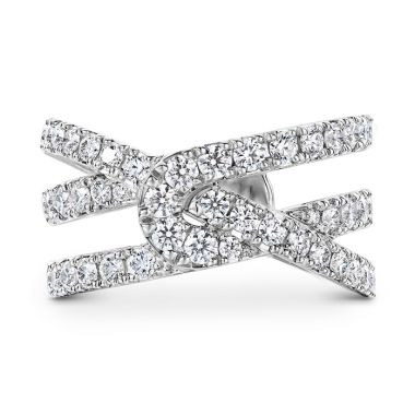 Hearts on Fire 1.34 ctw. Optima Diamond Wrap Ring? in 18K Rose Gold