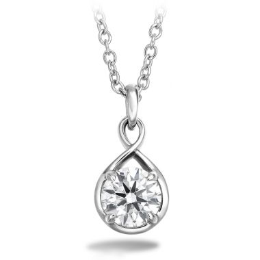 Hearts on Fire 0.34 ctw. Optima Drop Pendant in 18K White Gold