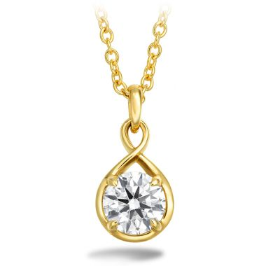 Hearts on Fire 0.34 ctw. Optima Drop Pendant in 18K Yellow Gold