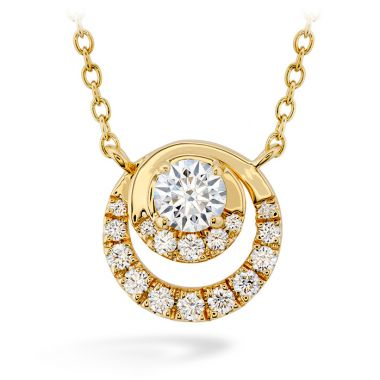 Hearts on Fire 0.38 ctw. Optima Pendant in 18K Rose Gold