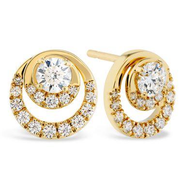 Hearts on Fire 0.76 ctw. Optima Stud Earrings in 18K Rose Gold