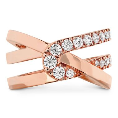 Hearts on Fire 0.65 ctw. Optima Wrap Ring in 18K Rose Gold