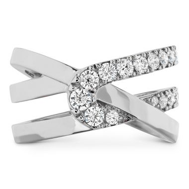 Hearts on Fire 0.65 ctw. Optima Wrap Ring in 18K White Gold