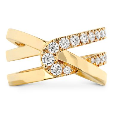 Hearts on Fire 0.65 ctw. Optima Wrap Ring in 18K Yellow Gold
