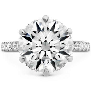 Hearts on Fire The Primrose Diamond Ring in Platinum