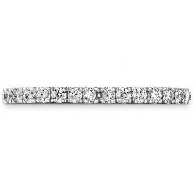 Hearts on Fire 0.59 ctw. Signature Petal Eternity Band in Platinum