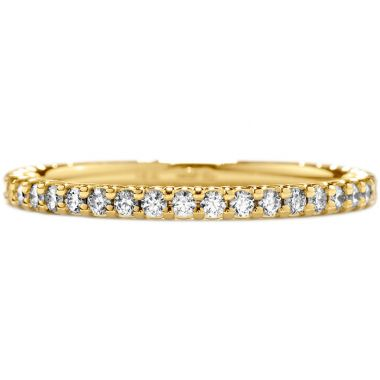 Hearts on Fire 0.3 ctw. Simply Bridal Wedding Band in 18K Yellow Gold