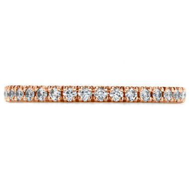 Hearts on Fire 0.25 ctw. Transcend Wedding Band in 18K Rose Gold