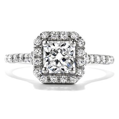 Hearts on Fire 0.45 ctw. Transcend Dream Engagement Ring in 18K White Gold