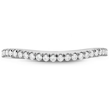 Hearts on Fire 0.18 ctw. Transcend Premier Curved Diamond Band in Platinum