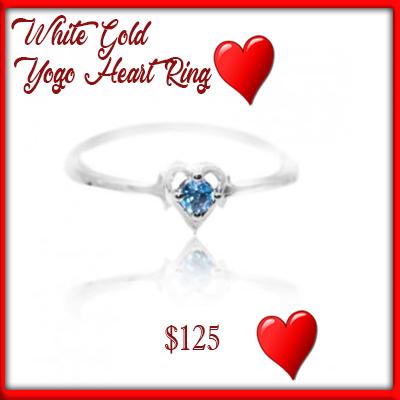 yogo heart ring